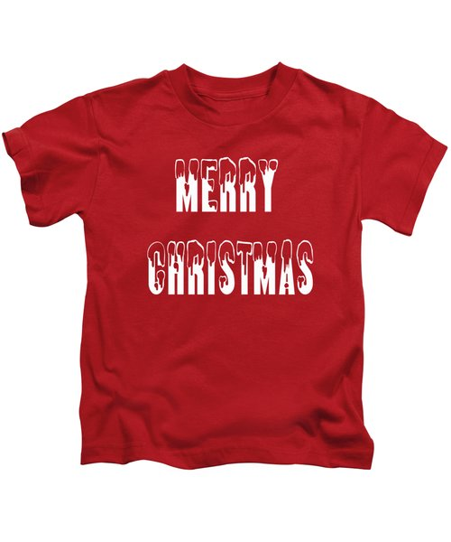 Merry Christmas Tee Kids T-Shirt