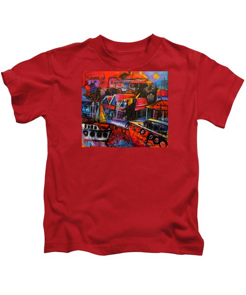 Mesmerised By The Moon Kids T-Shirt