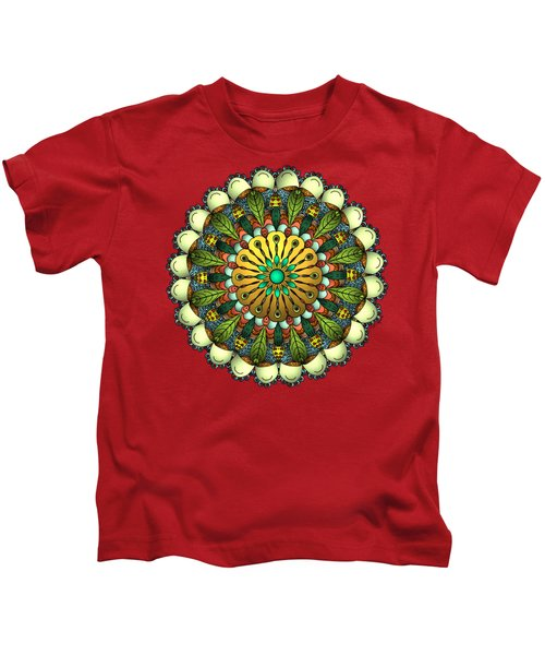 Metallic Mandala Kids T-Shirt