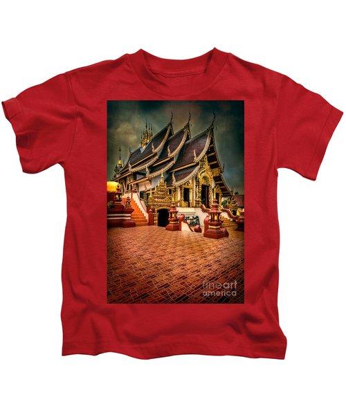 Monthian Temple Chiang Mai  Kids T-Shirt