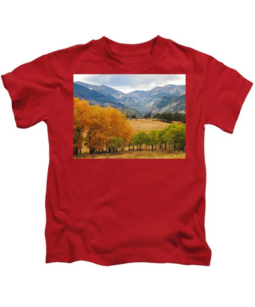 Moraine Park In Rocky Mountain National Park Kids T-Shirt