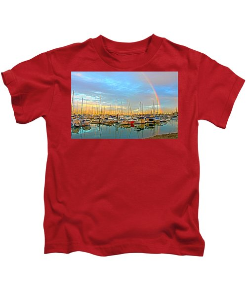Morton Bay Rainbow Kids T-Shirt