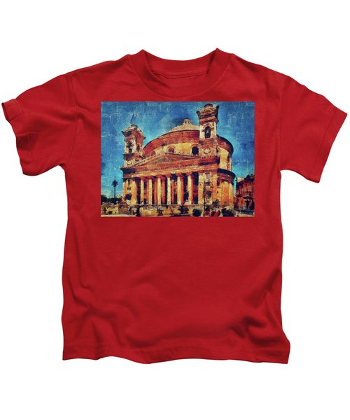 Mosta Church Kids T-Shirt