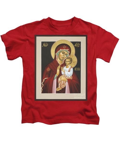 Mother Of God Light In All Darkness 016 Kids T-Shirt