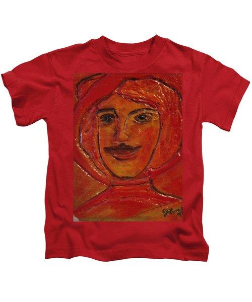 Moustached Prince Kids T-Shirt
