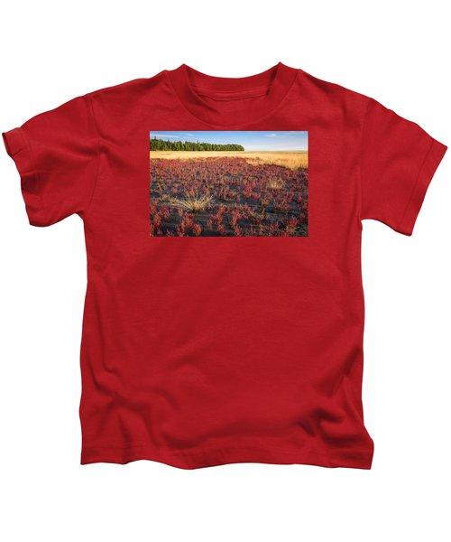 Mudflat Garden Kids T-Shirt