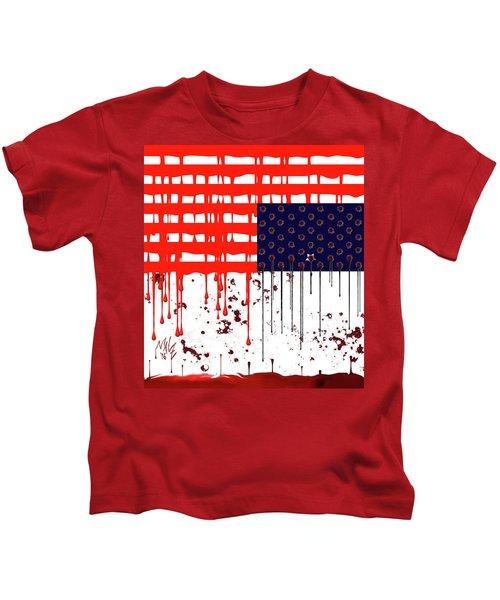 America In Distress Kids T-Shirt