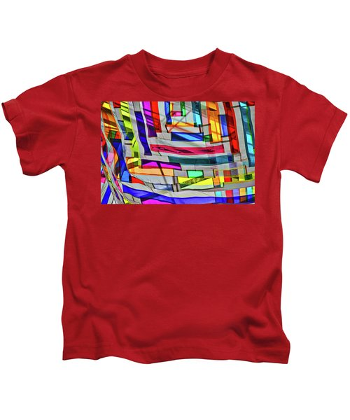 Museum Atrium Art Abstract Kids T-Shirt