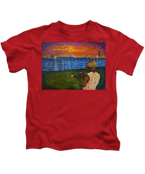 Music Man In The Lbc Kids T-Shirt