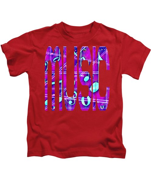 Music Notes Kids T-Shirt
