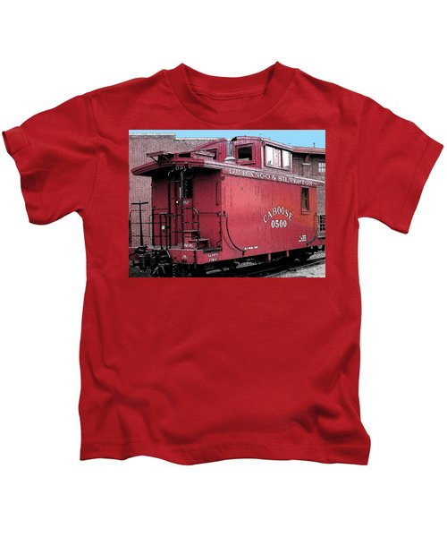My Little Red Caboose Kids T-Shirt