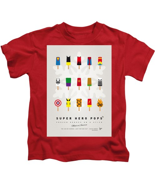 My Superhero Ice Pop - Univers Kids T-Shirt