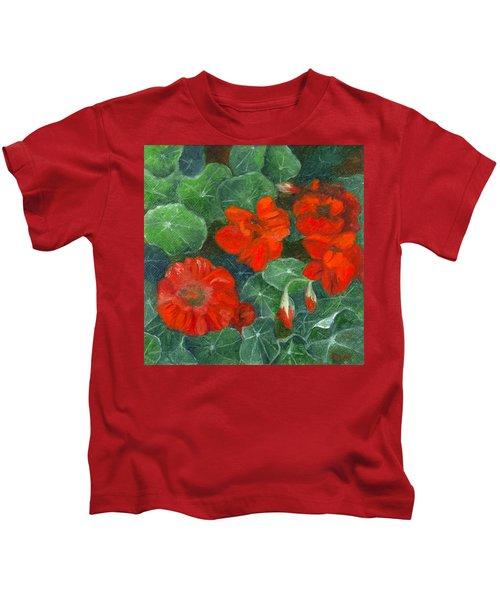 Nasturtiums Kids T-Shirt
