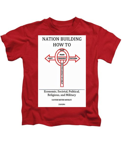 Nation Building How To Book Kids T-Shirt