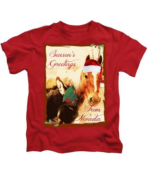 Nevada Greetings Kids T-Shirt