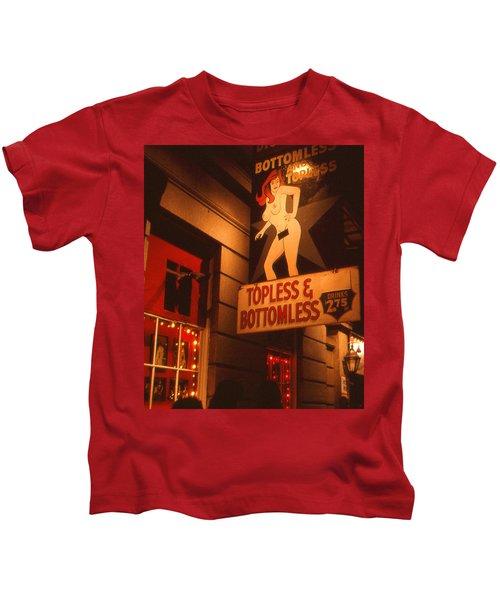 New Orleans Topless Bottomless Sexy Kids T-Shirt