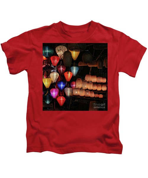 Nightlanterns Hoi An  Kids T-Shirt