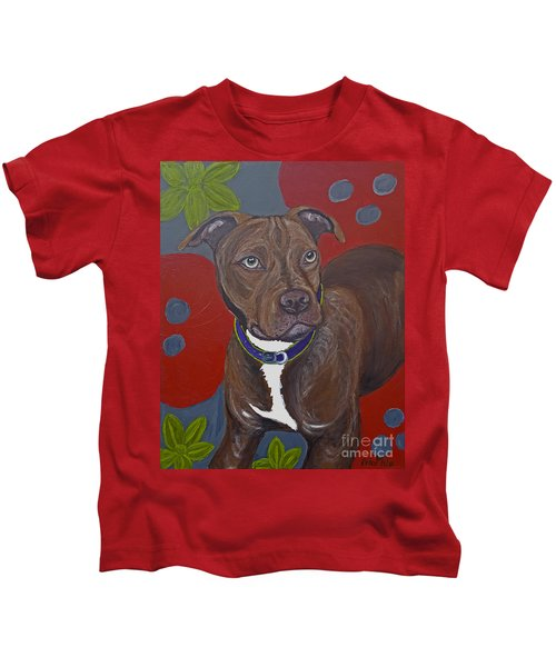 Niko The Pit Bull Kids T-Shirt