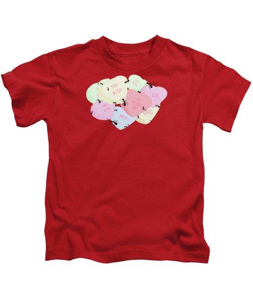 No Love Here Kids T-Shirt