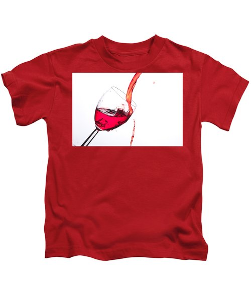 No Wine Was Harmed During The Making Of This Image Kids T-Shirt