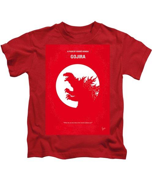 No029-1 My Godzilla 1954 Minimal Movie Poster Kids T-Shirt