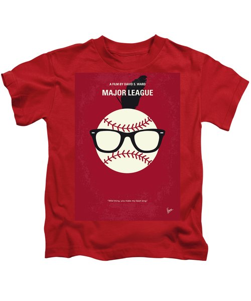No541 My Major League Minimal Movie Poster Kids T-Shirt