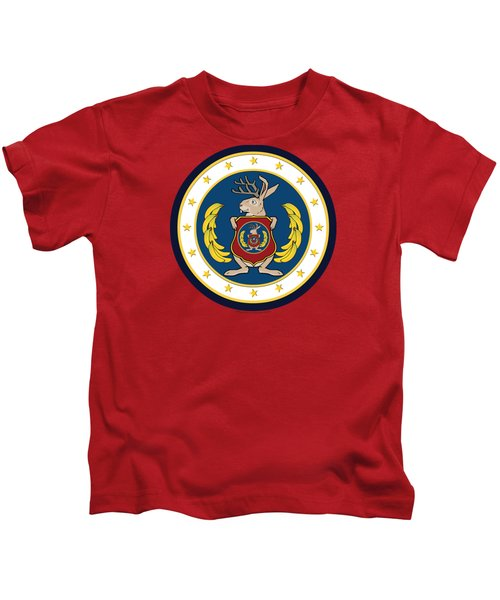 Official Odd Squad Seal Kids T-Shirt by Odd Squad