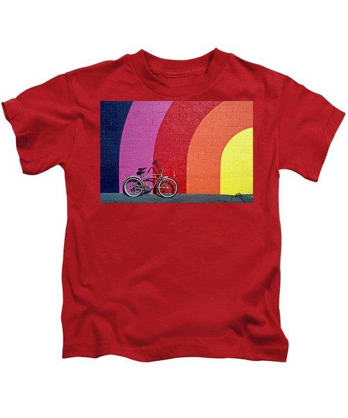 Old Bike Kids T-Shirt