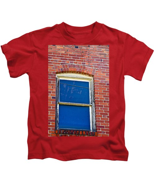 Old Brick Building Kids T-Shirt