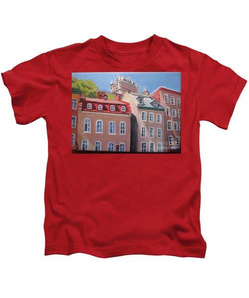 Old Quebec City Kids T-Shirt
