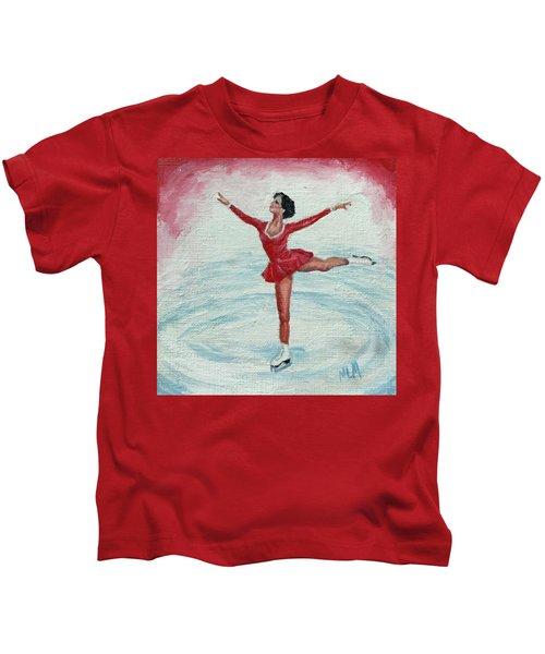 Olympic Figure Skater Kids T-Shirt