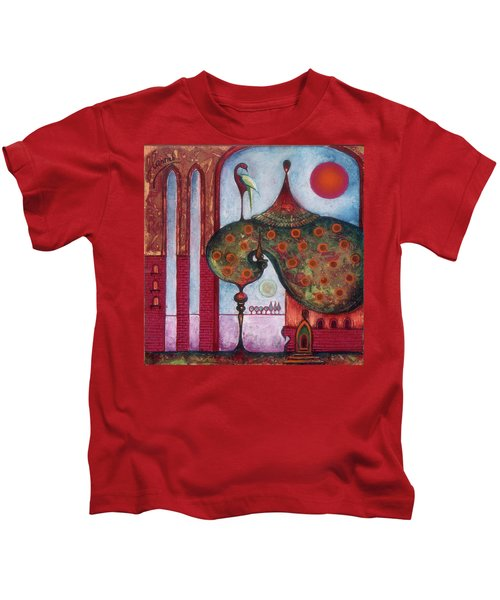 On The Rooftop Of The World Kids T-Shirt