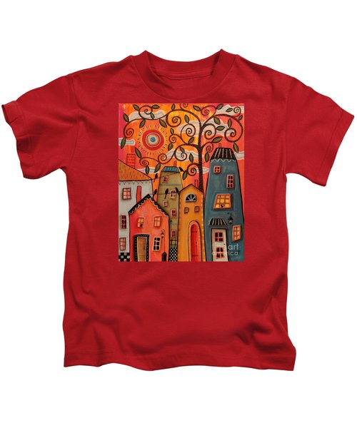 One Afternoon Kids T-Shirt by Karla Gerard