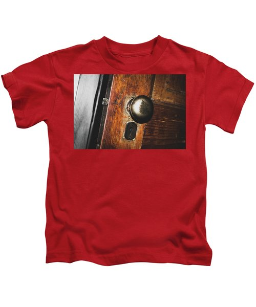 Open To The Past Kids T-Shirt