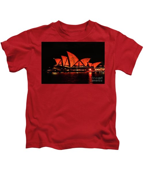Orange Blast Kids T-Shirt