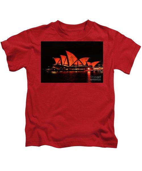 Orange Blast Kids T-Shirt