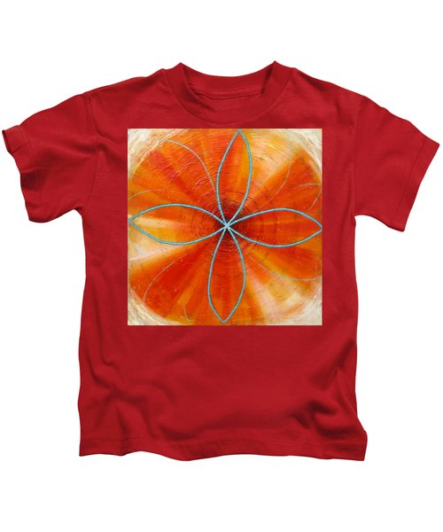 Orange Chakra Kids T-Shirt