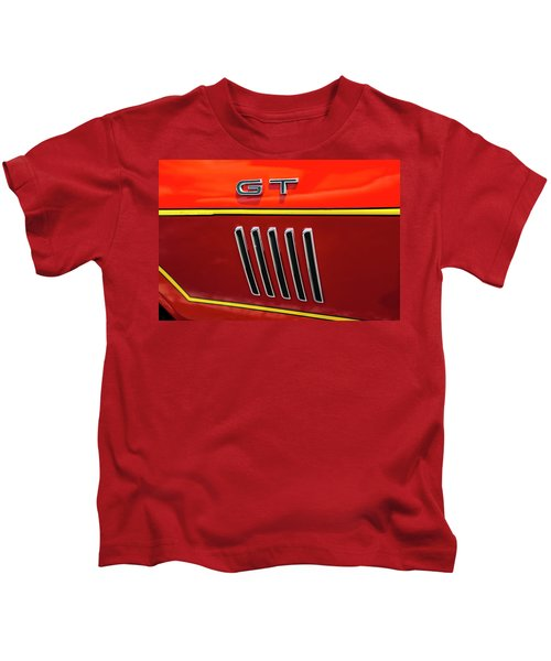 Orange Gt Kids T-Shirt