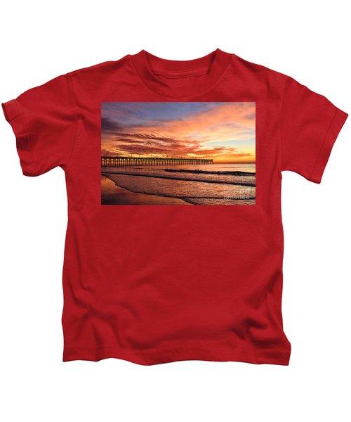 Orange Pier Kids T-Shirt