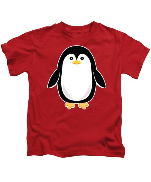 Perky Baby Penguin Kids T-Shirt