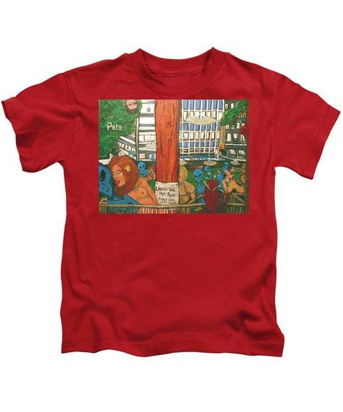 Pets Kids T-Shirt