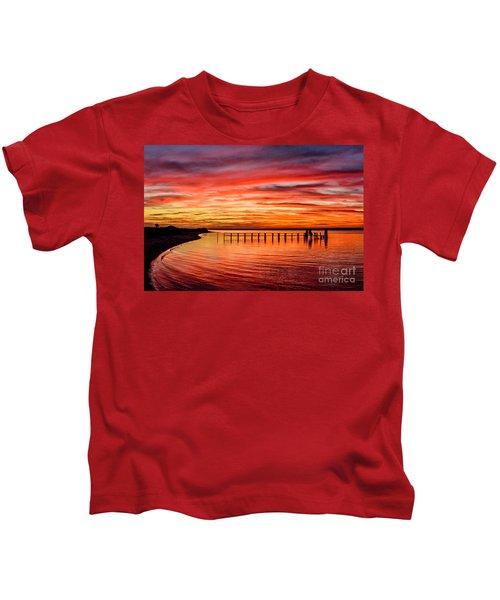 Pink Bay Kids T-Shirt