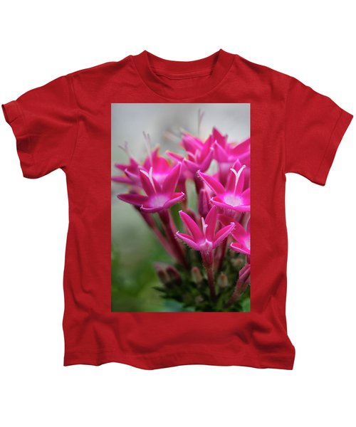 Pink Blossoms Kids T-Shirt