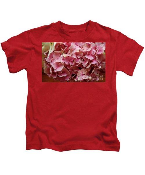 Pink Flowers Kids T-Shirt