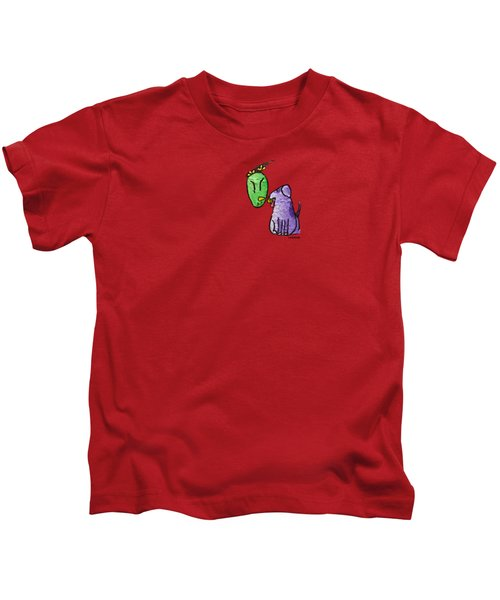 Play Ball Kids T-Shirt by LimbBirds Whimsical Birds