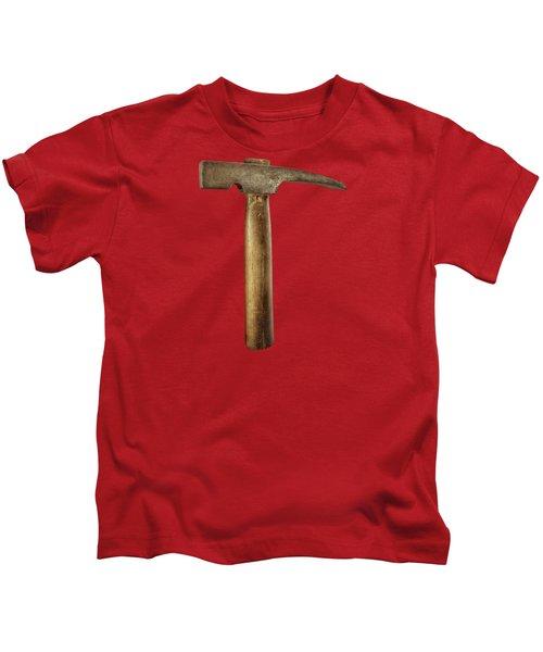 Plumb Masonry Hammer Kids T-Shirt