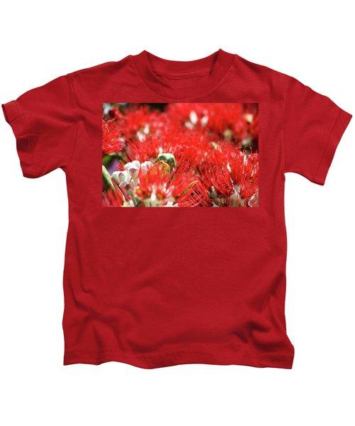 Pohutukawa Cheer Kids T-Shirt