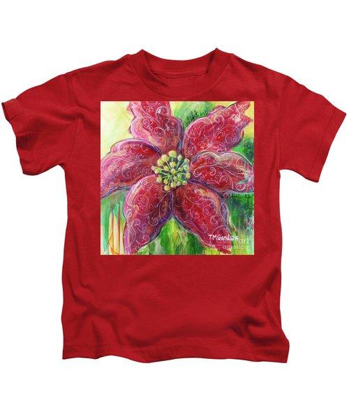 Poinsettia Kids T-Shirt
