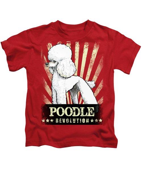 Poodle Revolution Kids T-Shirt