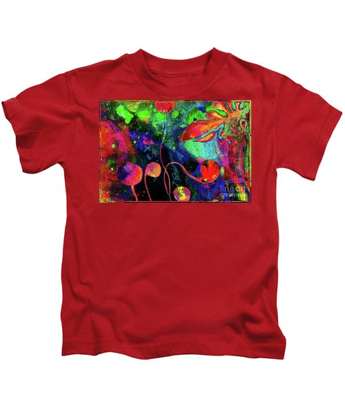 Poppy Enchantment Kids T-Shirt